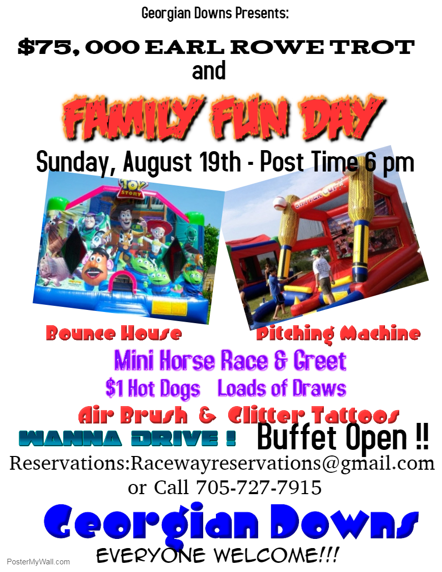 Earl Rowe Trot and Family Fun Day